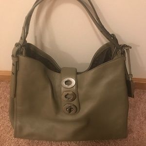 Larger size Olive Coach purse!